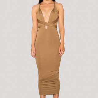 SCK Multiway Tan Dress