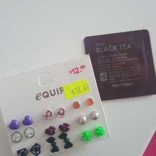Cute basic earrings*free sample*