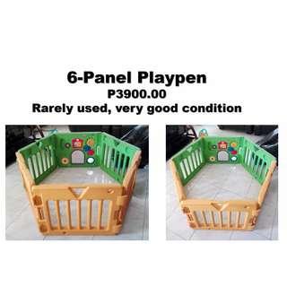6-Panel Playpen