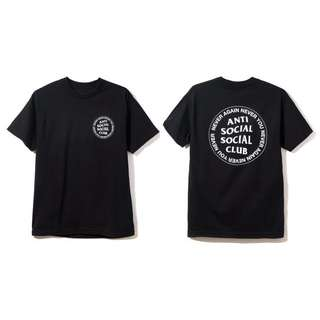 🎉現貨 Anti Social Social Club ASSC Never Again Never You 美國官網直送 保證真品