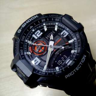 G-Shock GA-1000-1A Aviation Series Mens Luxury Watch - Black / One Size (Selling just the ⌚ watch only)