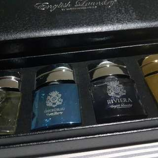 English Laundry Men's Perfume 4 Piece Coffret Set