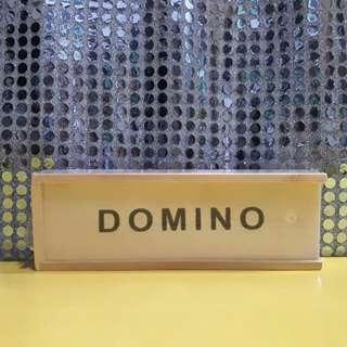 DOMINO (actual photos here)