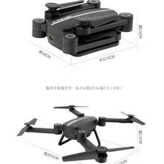 Foldable RC Drone Quadcopter Selfie With Camera 2.4GHz