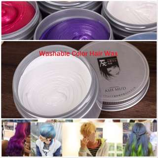 Temporary Washable Colour Hair Dye Wax(6 Colours) Easiest way to Change Your Hair Colour n Style