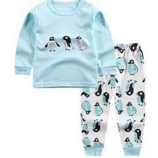 100cm Cute penguin pajamas Boys or girls