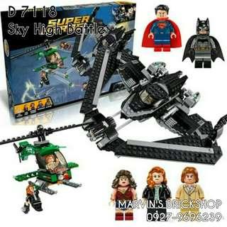 For Sale Batman Vs Superman Sky High Battle Building Blocks Toy D 7118