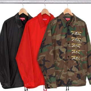 supreme antihero coach jacket