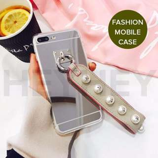 Luxury Fashionable Durable Silver Mirror Back iPhone Case 66s,66s Plus,7,7Plus