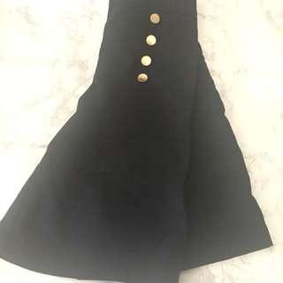 3/4 Culotte in black colour