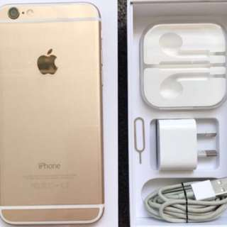 Gold iPhone 6 128gb