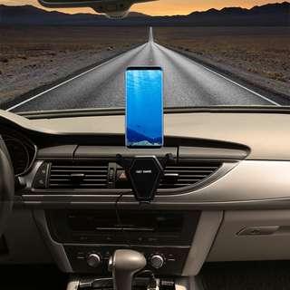 (車用)全球最新iPhone 8和iPhone X和三星,家用跟車用手機無線充電器,支援Qi全球搶翻了