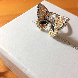 Atelier Swarovski butterfly cocktail ring