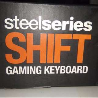 SteelSeries Shift Gaming Keyboard