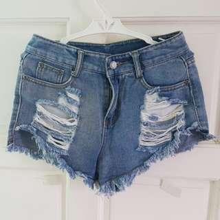 Copper Highwaist Shorts