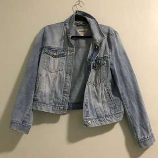 Pull&Bear Real Denim Crop Jacket