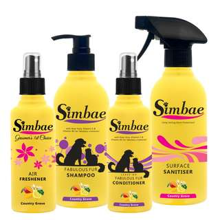 Fabulous Fur Grooming & Cleaning Supplies Pack