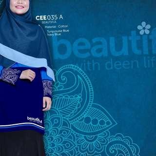 Baju muslimah batik