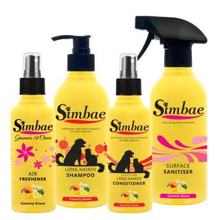 Long Hair Grooming & Cleaning Supplies Pack
