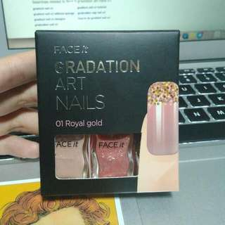 Face Shop Gradient Nail Polish Set