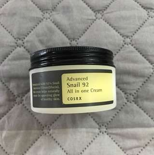 Cosrx all in one snail cream