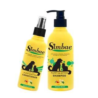 Puppy Kitten Shampoo & Conditioner Set
