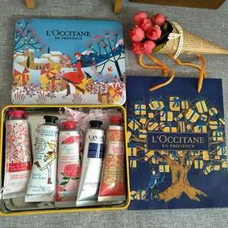 歐舒丹聖誕禮盒款五件組護手霜