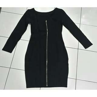 Little Head Black Dress