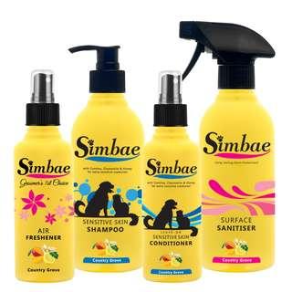 Sensitive Skin Grooming & Cleaning Supplies Pack