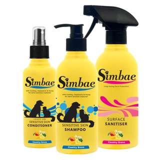 Sensitive Skin Grooming Set + Sanitiser