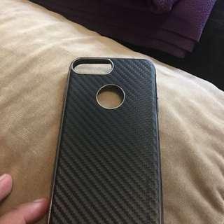 Carbon fiber design iPhone 7+ case