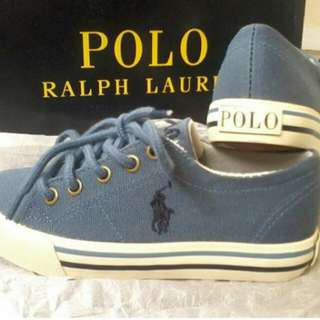 Polo Ralph Lauren China Blue Scholar Toddler Shoes
