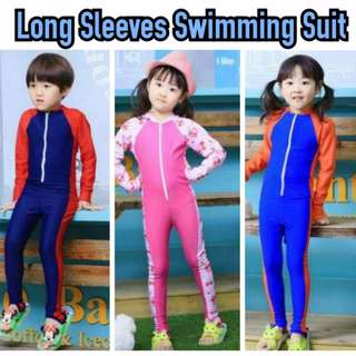 LONG SLEEVES SWIMMING SUIT