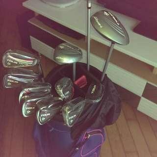 Golf set(woman)連袋