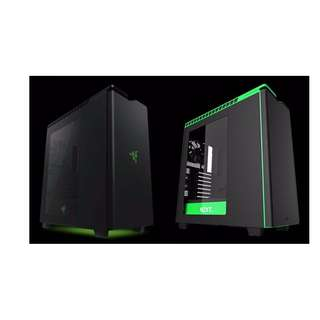 H440 -Razer  Black + Green  NZXT Certified Refurbished Cases Model:NZXT-CA-H442W-RA