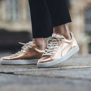 Puma - rose gold sneakers