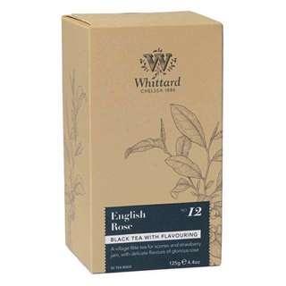 Whittard-英國玫瑰茶包(內含50小包)現貨