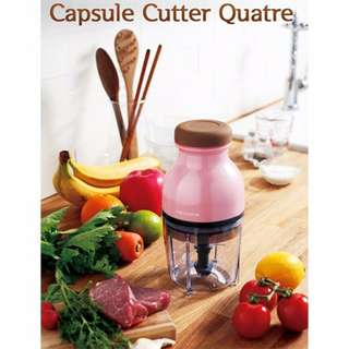 Capsule Cutter Quatre Food Processor Blenders,Mixers Grinder Chopper