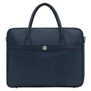 Oroton Melanie Briefcase in navy