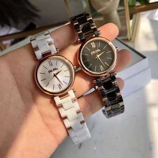 Authentic! Folli Follie Watch ! 陶瓷手錶!黑白兩色