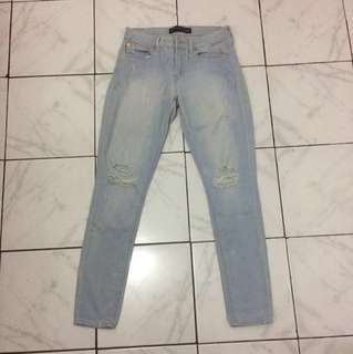 Ripped jeans big size jeans big size 32 #MurahMeriah