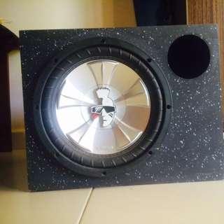 Speaker box mohawk