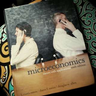 Microeconomics: Theory with Applications (6th Ed)