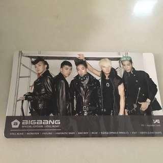 🈹YG x Hyundai Card BIGBANG SPECIAL EDITION STILL ALIVE 絕版 宣傳 站立紙牌