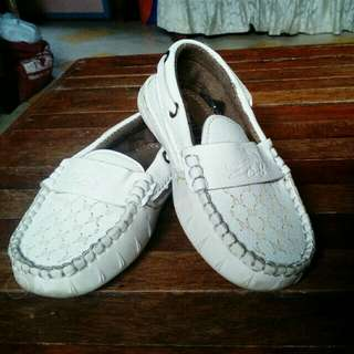 White Top sider shoes