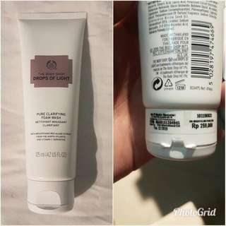 Whitening Face Wash The Body Shop