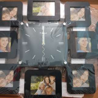 Wall Clock surrounded photo  frame