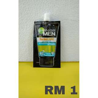 GARNIER MEN FACIAL WASH 10ML
