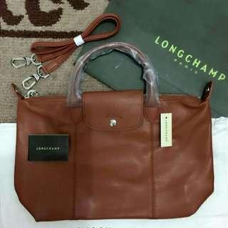 Athentic Longchamp Leather