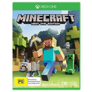 Minecraft - XBox One (NEW AND SEALED) - AWESOME PRICE!